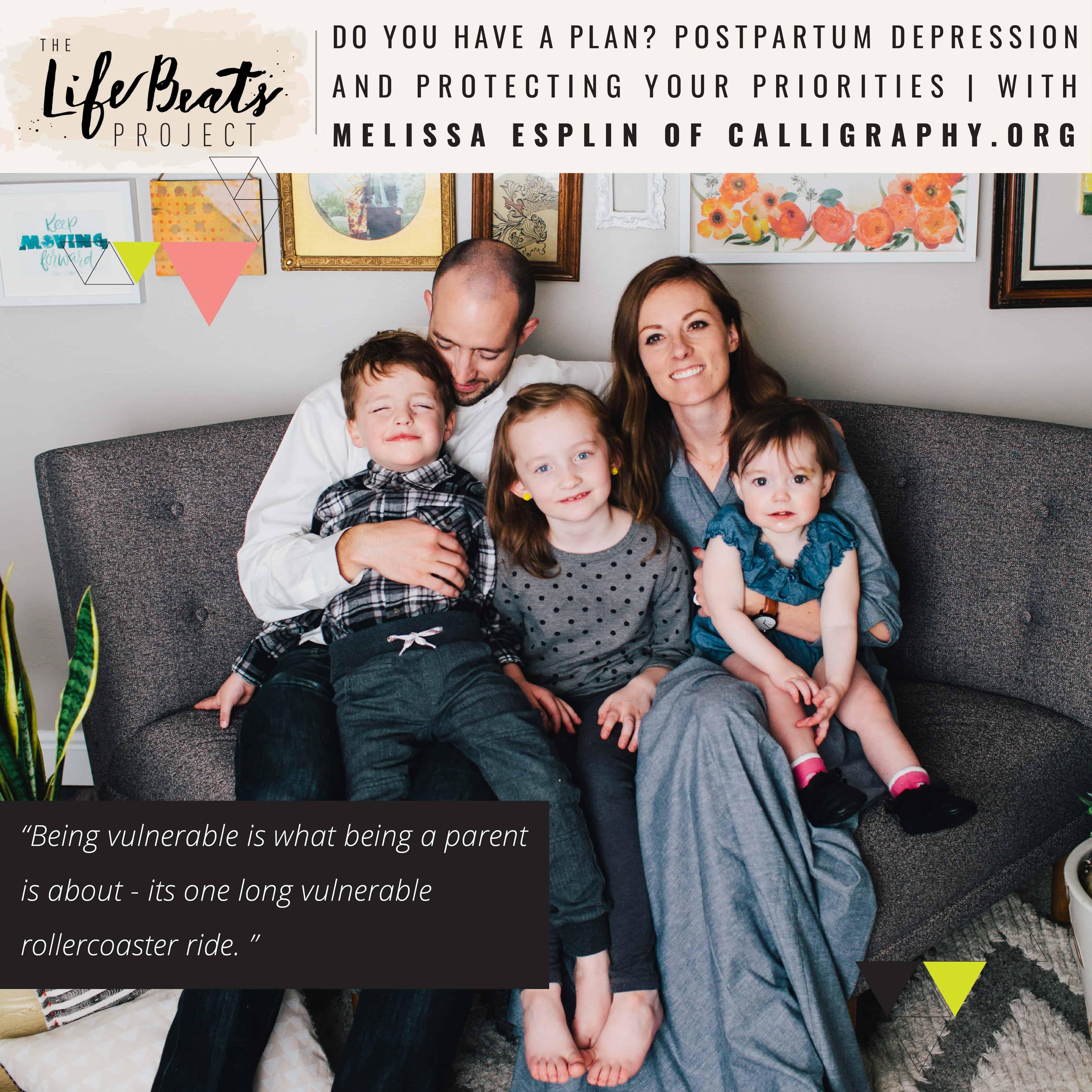 postpartum depression priorities anxiety motherhood baby blues