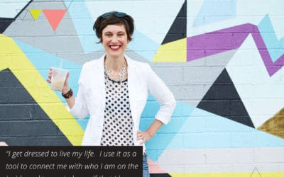 The transformative power of dressing to your strength and recognizing resistance with Stasia Savasuk of Stasia's Style School (TLBP #15)