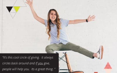 Serving refugees, the circle of giving, and tips for a successful Kickstarter   with Jenny Wecker of Fawn Design (TLBP #18)