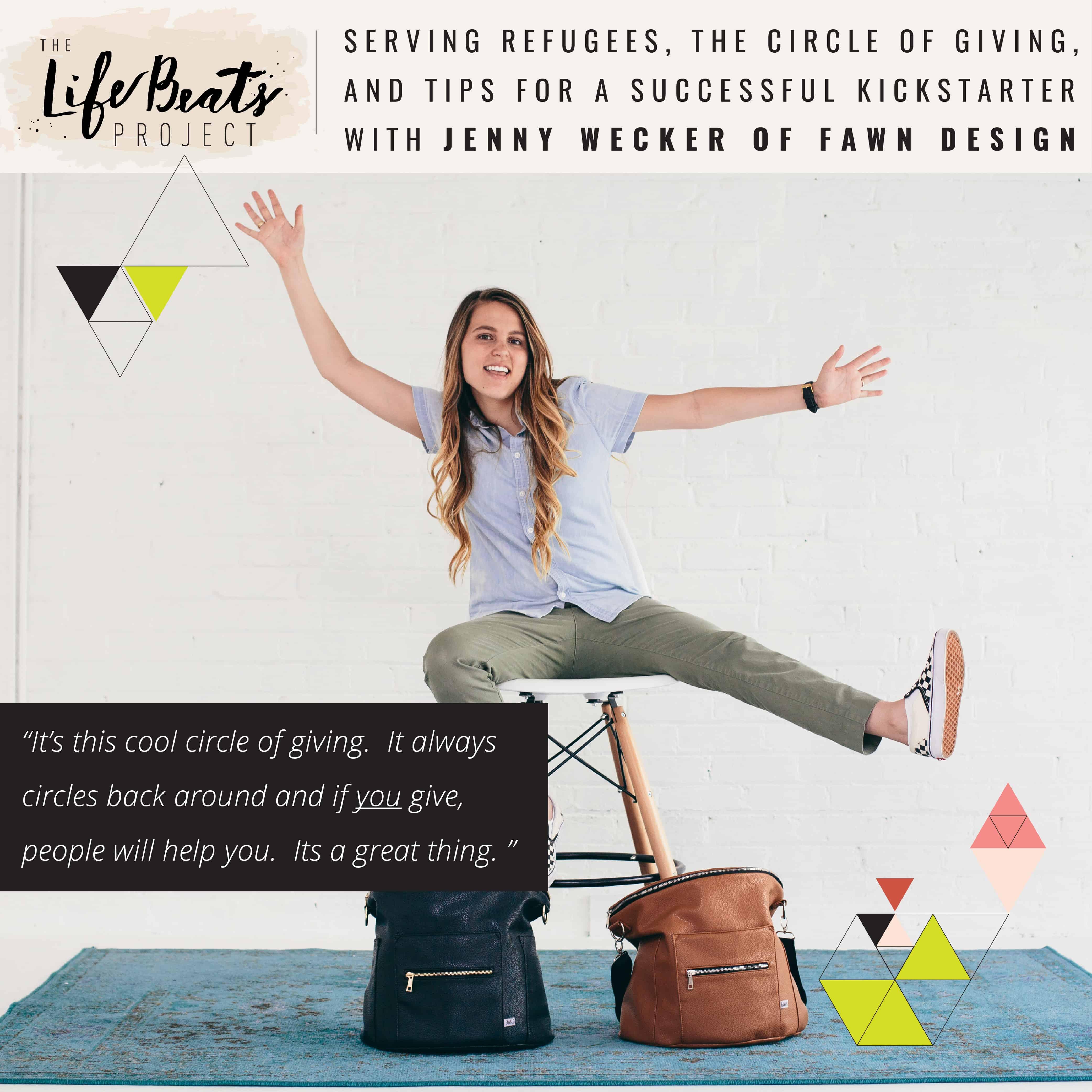 serve refugees app fawn design diaper bags kickstarter