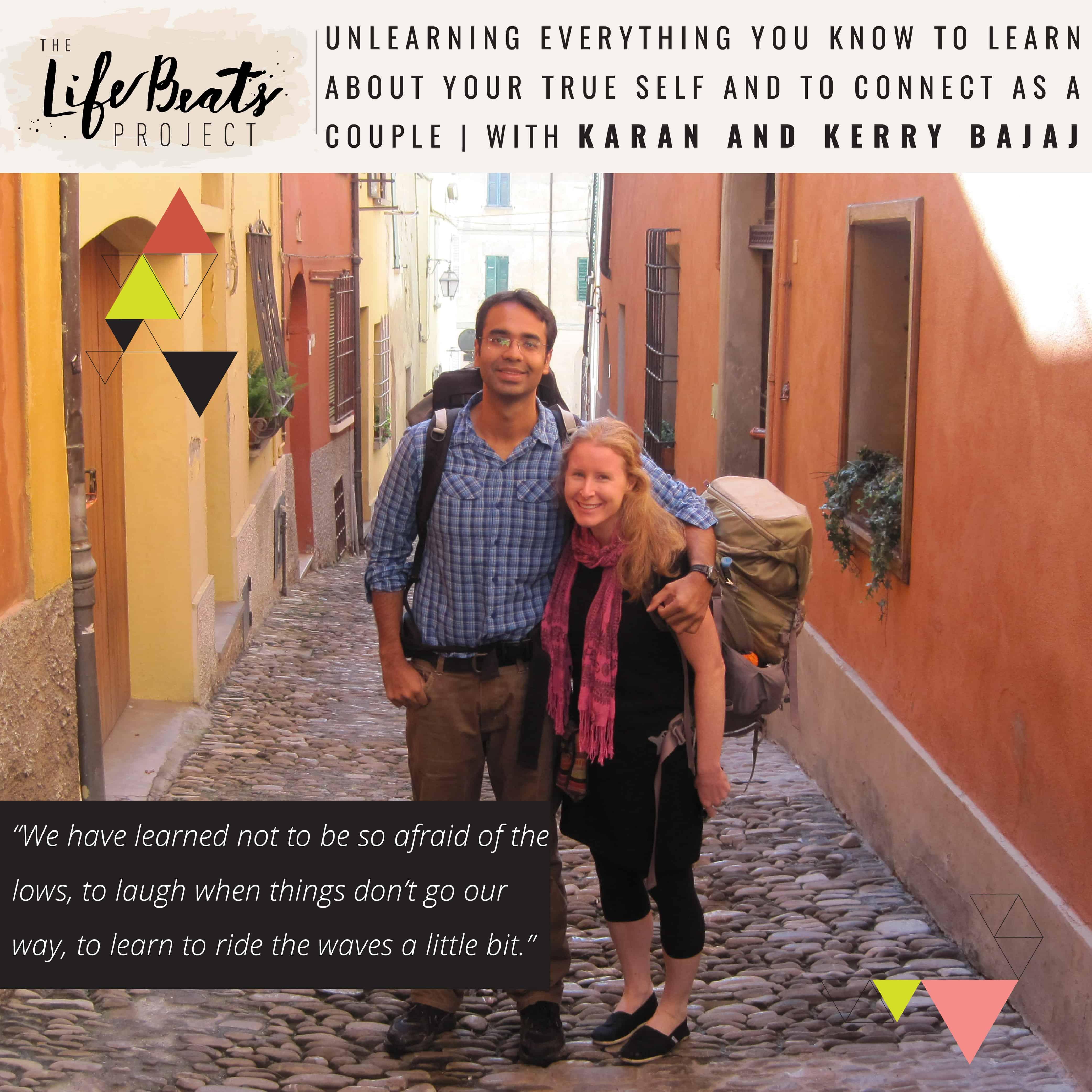Indian novelist yoga meditation couple retreat parenting relationships podcast