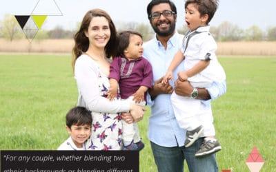 Creating a family identity from blending different cultures   with Brittany Muddamalle of The Almost Indian Wife (TLBP #28)