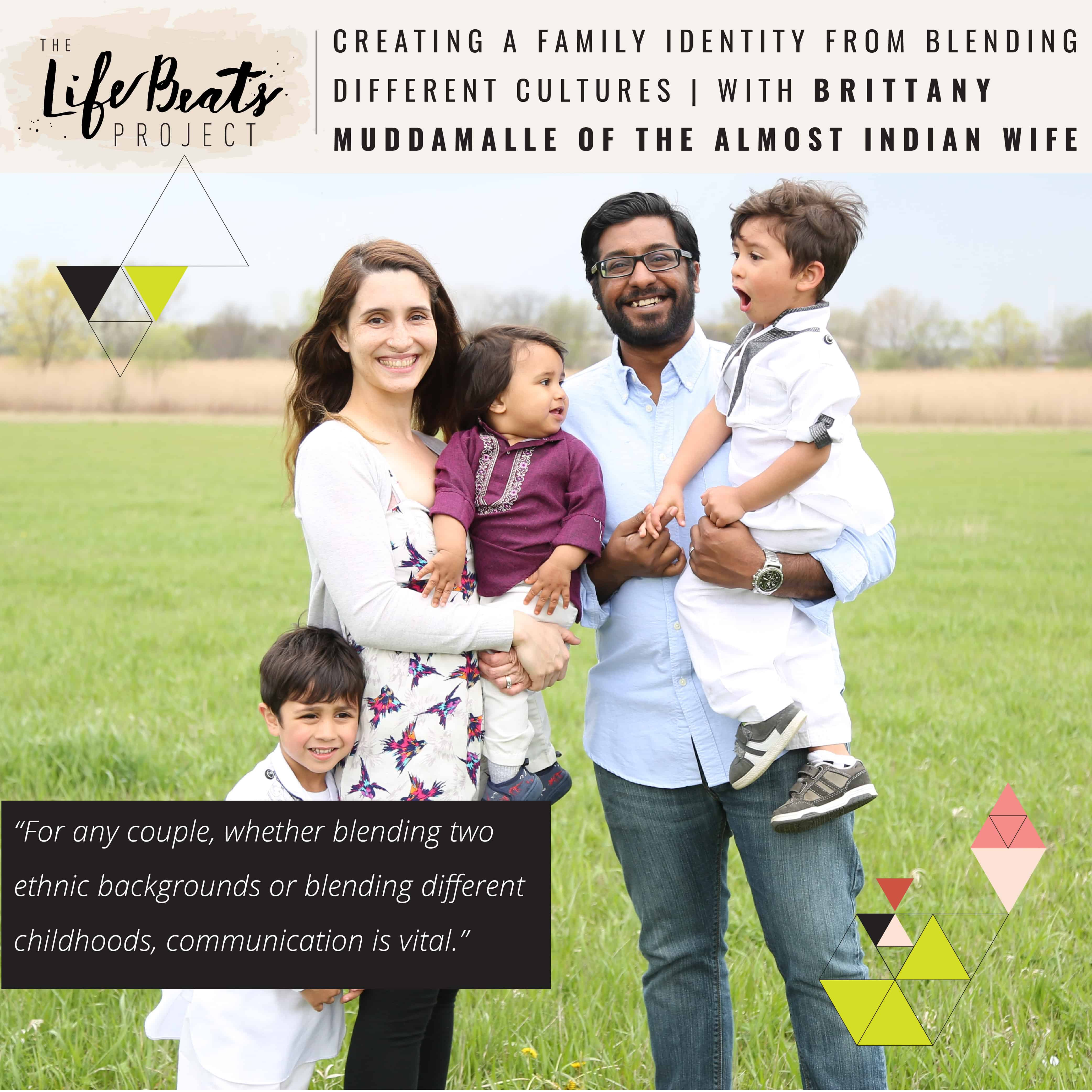 multicultural biracial couple family blending cultures family identity podcast