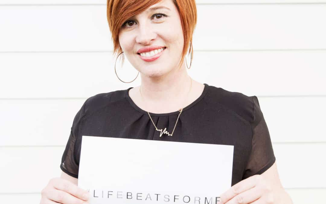 Share your story with our new social media campaign #lifebeatsforme