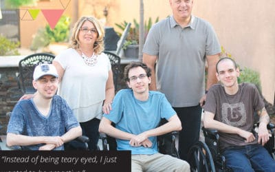 Turning our tears into action and treasuring each moment   with Cindy DeMint of Ataxia Walk n Roll (TLBP #33)