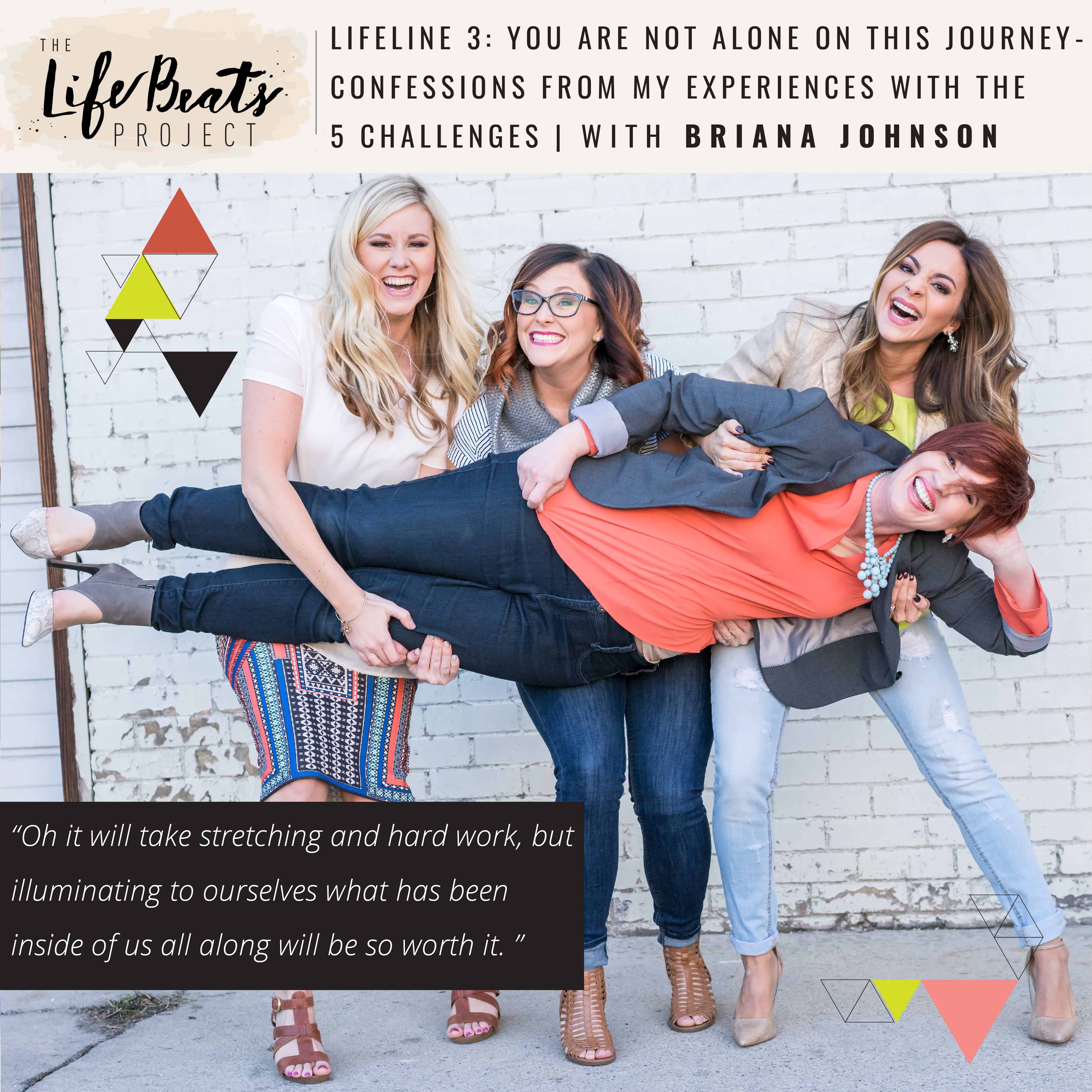 you are not alone community see good inside yourself challenges podcast fight negativity