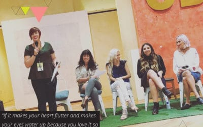 Making a difference and their mark : 9 entrepreneur stories from the Creative Buffet Conference (TLBP #46)