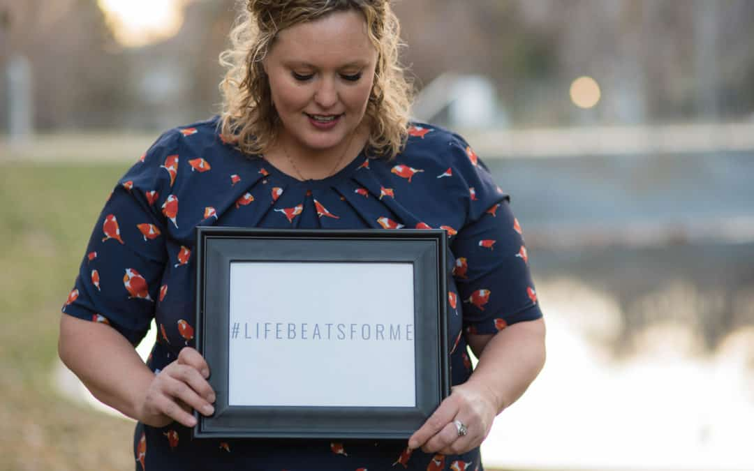 Share your story – #LifeBeatsforme – My very own story teaches me about hope – Julie Bristow