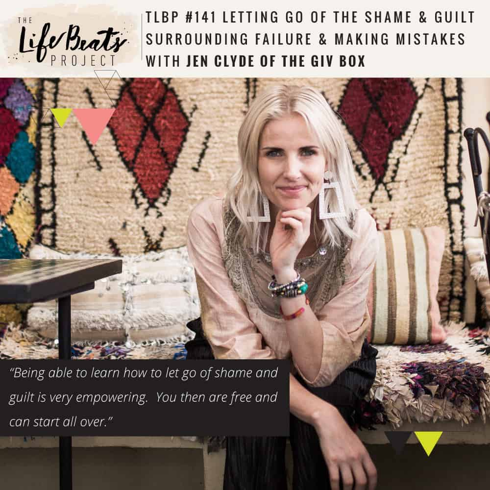 divorce married twice single mom business owner mompreneur momtrepreneur mistakes failure shame guilt podcast LifeBeats parenting